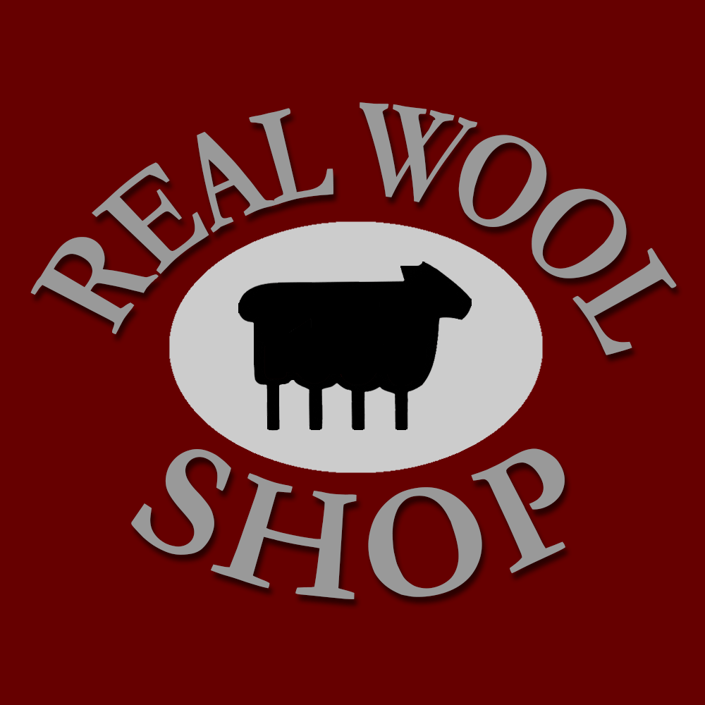 Real Wool Shop logo